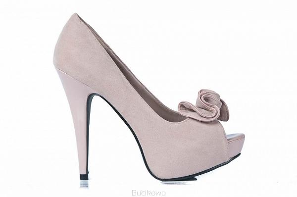 c938b1f2 Beżowe czółenka na szpilce Nydia13 - Bucikowo - Mode obuwie damskie